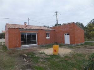Construction maison tuile